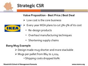 example business plans csr as a core business strategy masterclass by john holm at msm romania