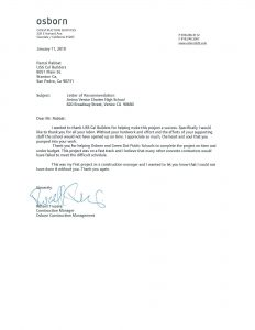 example letters of recommendation letter of recommendation lorrts