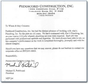 example letters of recommendation letter of recommendation