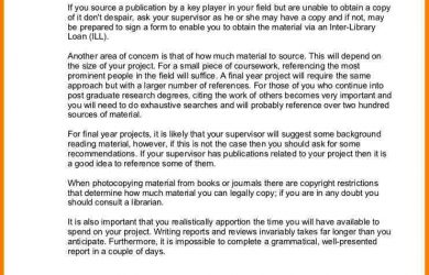 example of a literature review literature survey sample writing a literature review handout cb
