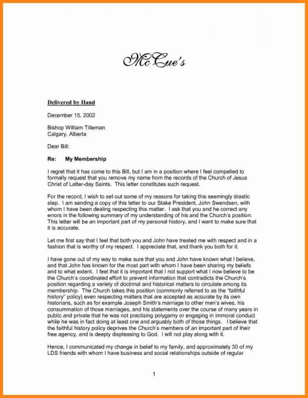 example of a recommendation letter