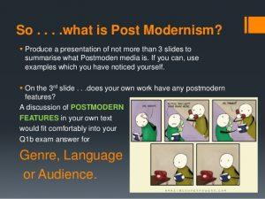 example of an introduction postmodernism