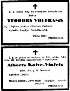 example of an obituary latvian nkvd victims death notices in nazi propaganda
