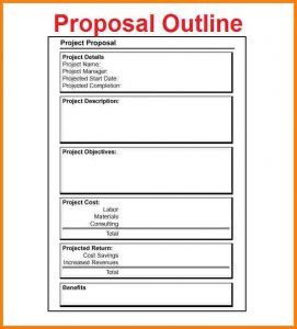 example of grant proposal example of outline project proposal free project proposal outline download