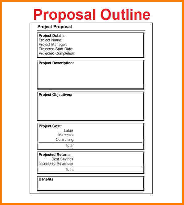 example of grant proposal