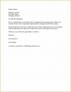 example of simple resume weeks notice letter retail eddebfbbbefbbb