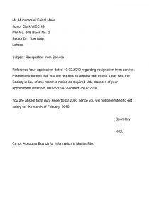 example resignation letter resignation letters