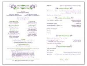 example wedding programs dcffafcde wedding program samples wedding programs wording