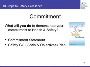 examples of a mission statement steps to safety excellence generic