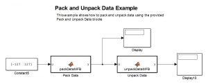examples of copyright packunpackdatasimulinkexample