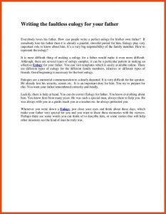 examples of eulogies eulogy examples writing the faultless eulogy for your father cb