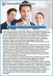 examples of life goals statement of purpose for international business writing service