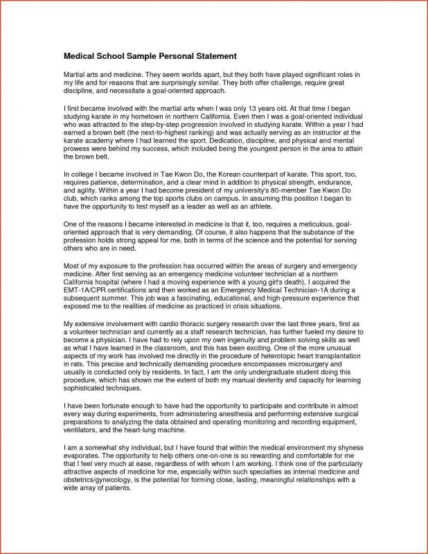 examples of personal statements  template business examples of personal statements