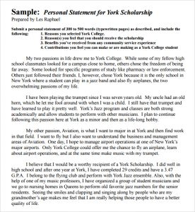 examples of personal statements for graduate school personal statement template