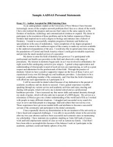 examples of personal statements personal statement example
