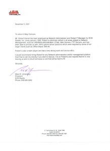 examples of reference letters reference letter