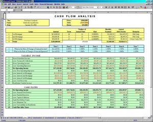 excel cash flow template cfa