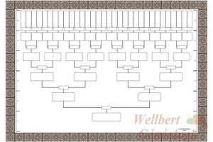 excel family tree template blank family tree charts to handwrite genealogy ancestors
