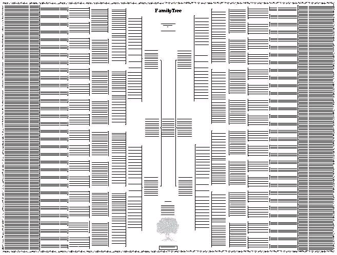 excel family tree template