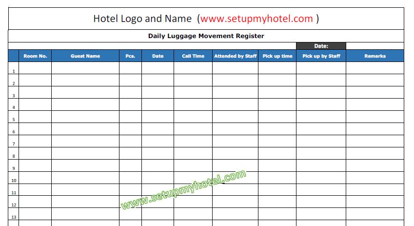 excel order form template