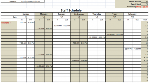 excel pay stub template monthly schedule template excel