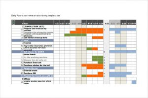 excel task tracker template excel format of task tracking template