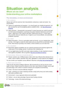 executive summary format example digital marketing plan template