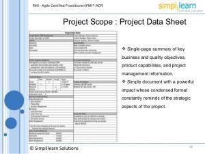 executive summary template word agile project management framework