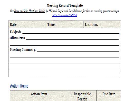 executive summary template word