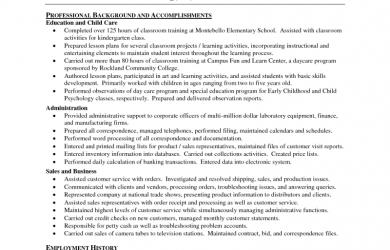 experience letter sample sample teacher resume google preschool teacher resume sample
