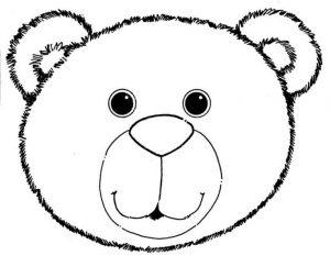 face mask template ebfddcfa teddy bear template bear mask
