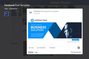 facebook business page template facebokk rectangle shared links x