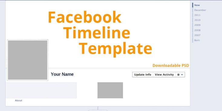 facebook header template