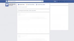 facebook post template facebook down blank profile