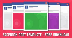 facebook post template facebook post template ad wsl
