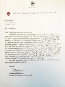 fake college acceptance letter n fake harvard rejection letter