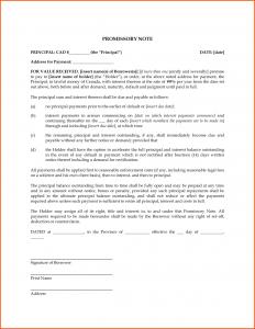 family loan agreement blank promissory note template e