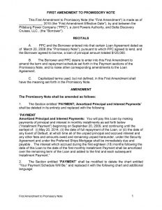 family loan agreement promissory note template