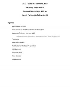 family meeting agenda budo ikd manitoba annual general meeting agenda for