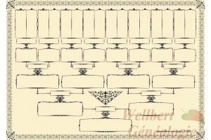 family tree chart free printable family tree chart 5 generations empty to fill in oneself