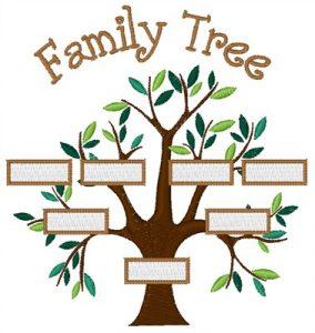 family tree design bnc