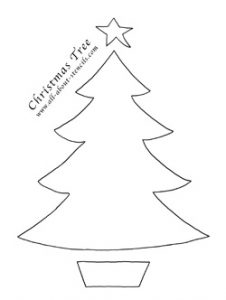 family tree printable freestencilchristmastree