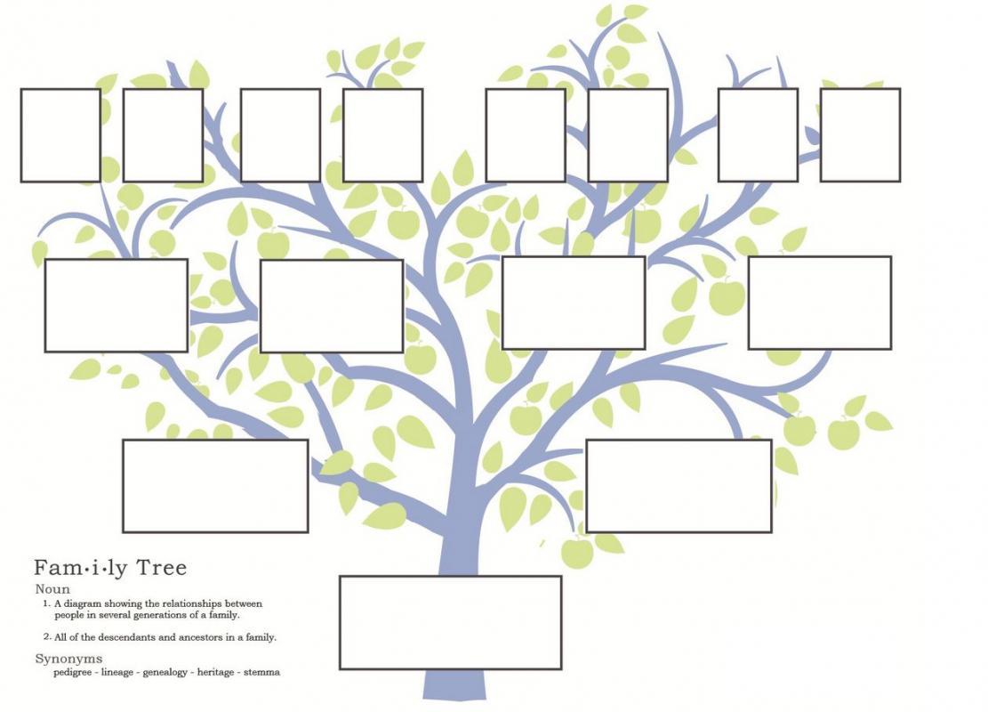 family tree template family tree printable