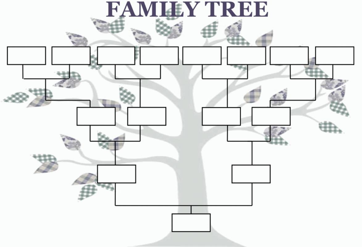 family tree template