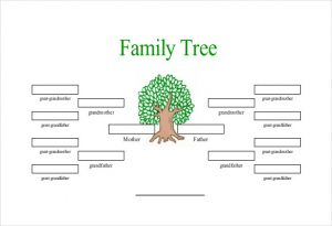 family tree template free free generation family tree template with siblings