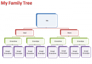 family tree template word family tree activity template smart art