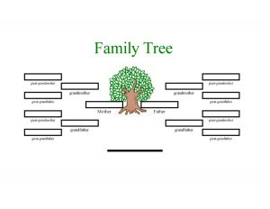 family tree template word family tree template