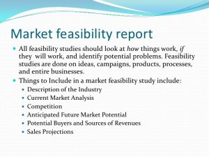 feasibility analysis template market feasibility