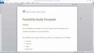 feasibility analysis template maxresdefault