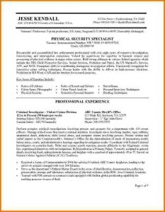 federal resume example federal resume sample jk federal page